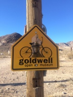 Goldwell Open Air Museum in Rhyolite, NV